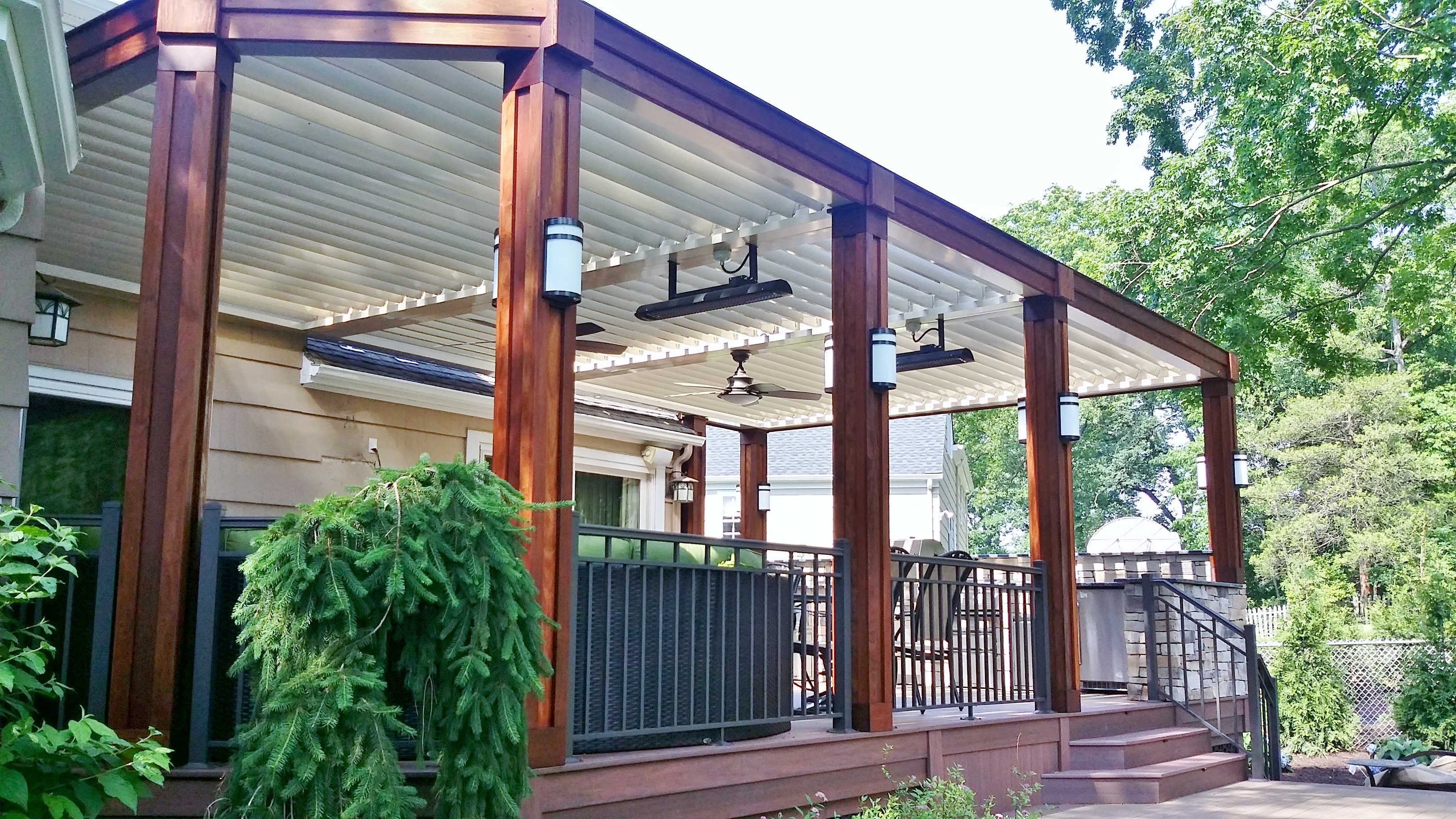 Equinox Louvered Roof Ultimate Siding Amp Gutters